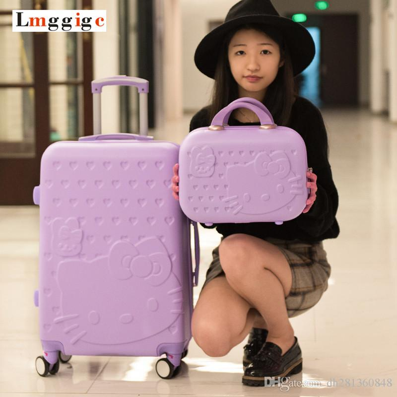 2022242628inch Hello Kitty Suitcase Set b48cb27ccf1b9