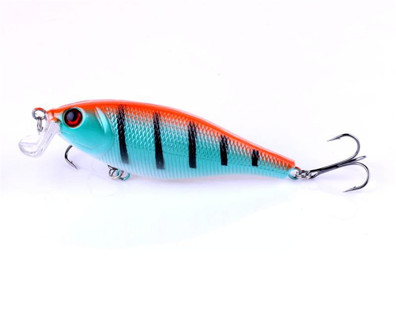 New Plastic Rattlin baits Diving Wobblers Lures 13.5g 7.5cm Bass Catfish Carp Trout Perch Artificial Fishing Tackle