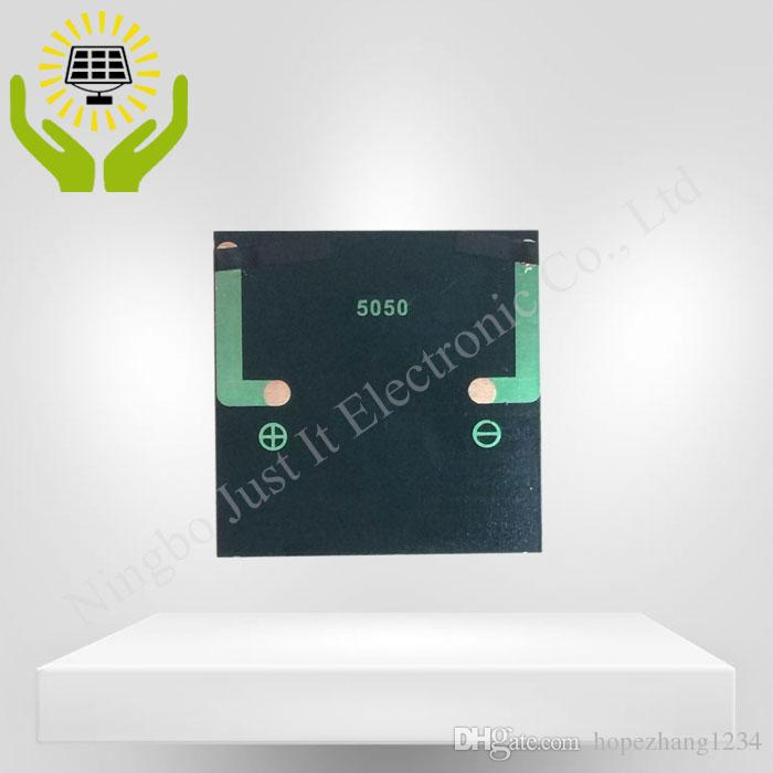 Painel solar 3V 70mA da resina de cola Epoxy mini 50 * 50mm