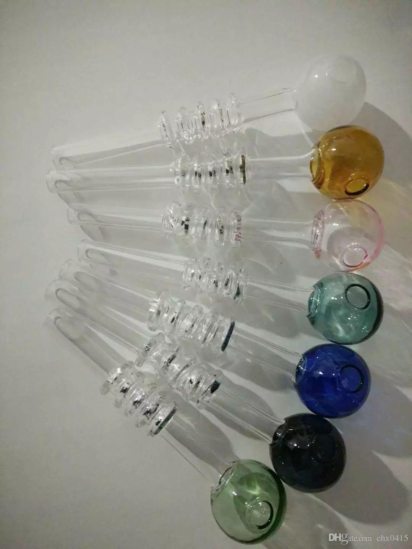 스프레이 냄비 봉 액세서리, 오일 버너 유리 파이프 물 파이프 유리 파이프 석유 굴착기 Dropper와 함께 흡연 유리 봉 액세서리