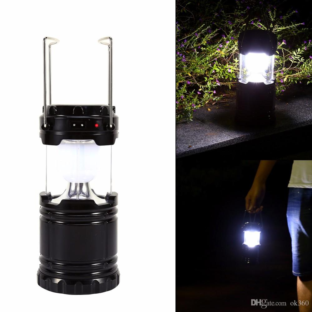 Led-lampen Led Outdoor-wandlampe Freien Hängen Solarlaterne Licht Garten Lampe Pfad Way Notfall Haken Lampe Warme Weiße Landschaft Solar Led-licht