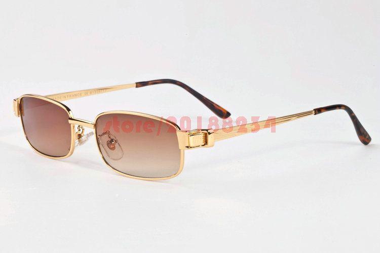 World of Glasses - Lunettes de soleil - Homme - marron - gtf6yVLNYR