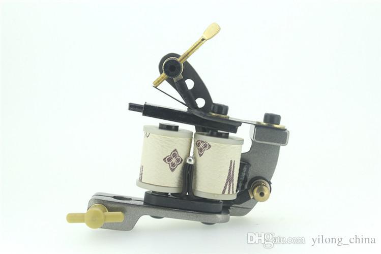 Sıcak Satış Alaşım Dövme Makinesi Dövme Guns Kaynağı Liner Shader Düşük Isı Dövme Guns 10 Rulo