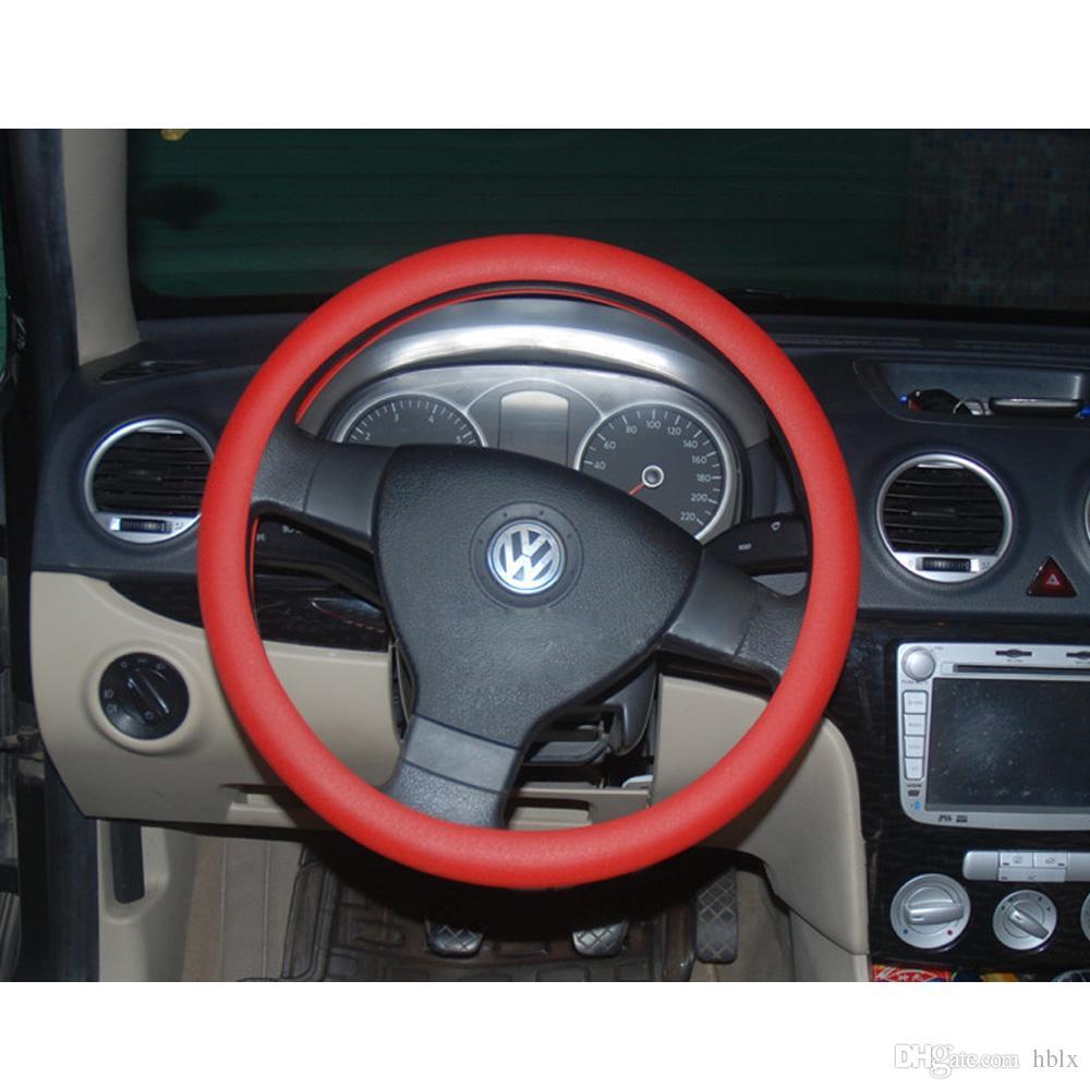 Coperchio del volante del silicone morbido compatibile con lo skidproof Mercedes Audi Nissan Peugeot Mazda CIA_100
