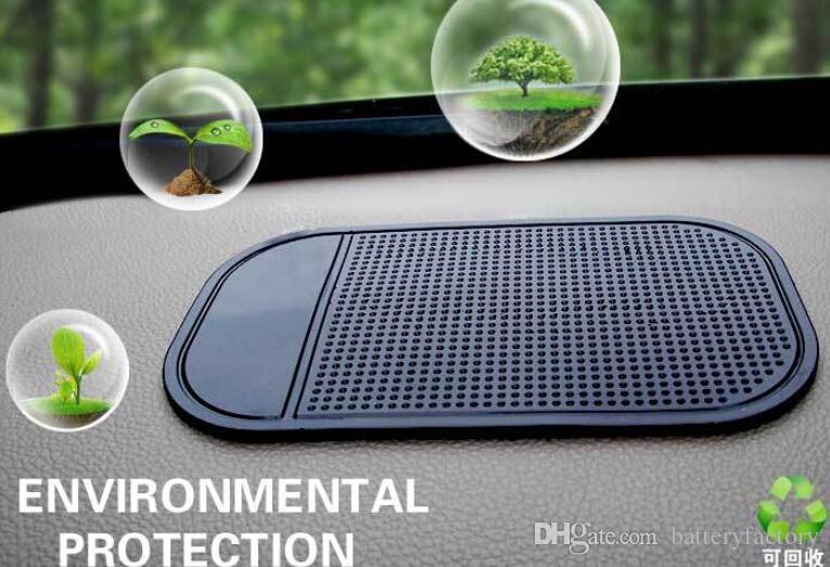 Zwart Auto Dashboard Sticky Pad Mat Anti Slip Gadget Mobiele Telefoon GPS Houder Interieur Items Accessoires