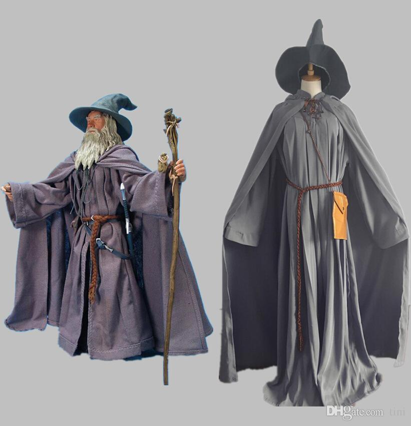 Halloween Lord Of The Rings Gandalf Wizard Cosplay Costume Unisex Men Women Fancy Outfit Witch Costumes Custom Made Kids Group Costumes Family Costume ... & Halloween Lord Of The Rings Gandalf Wizard Cosplay Costume Unisex ...