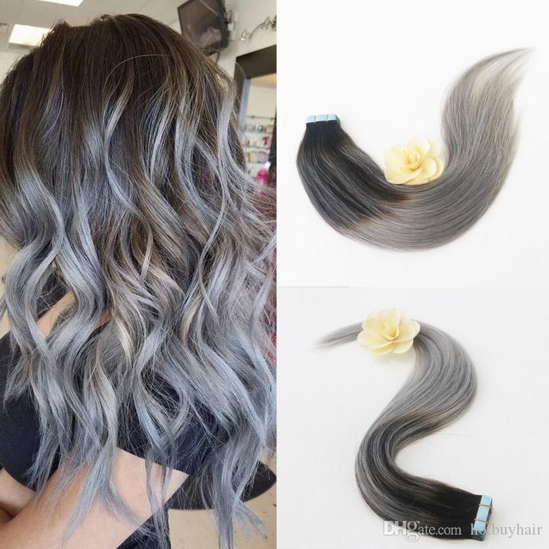 Hair Extensions Full Head Remy Hair Extensions Human Hair Pu Tape In