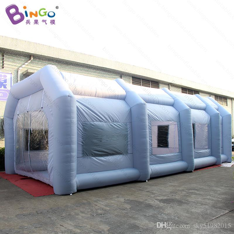 Portable Paint Booth >> 2019 10x5x3 5m Portable Inflatable Paint Booth With 2 Air System For