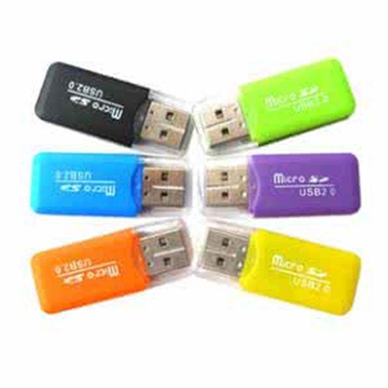 الجملة 2.0 قارئ بطاقة TF محرك مخصص قارئ بطاقة مصغرة مجانا ، قارئ بطاقة الذاكرة
