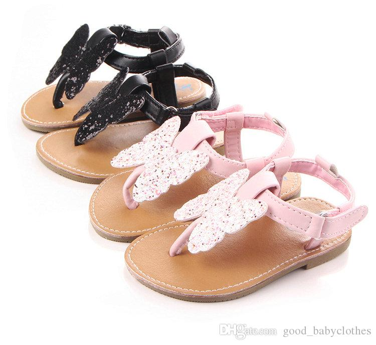 Newborn Sandal Summer Baby PU Shoes Antislip Toddler First Walkers Girls Princess Shoes
