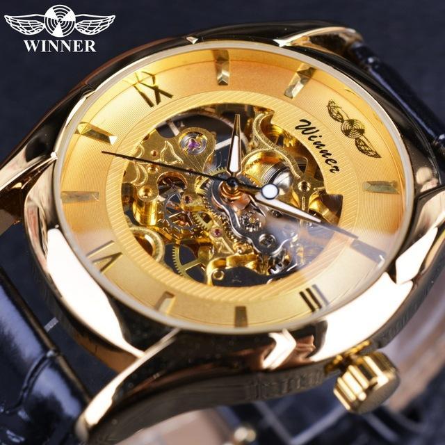 ce65e1d6c2e Winner Classic Design New Style Skeleton Mens Watch Top Brand Luxury ...
