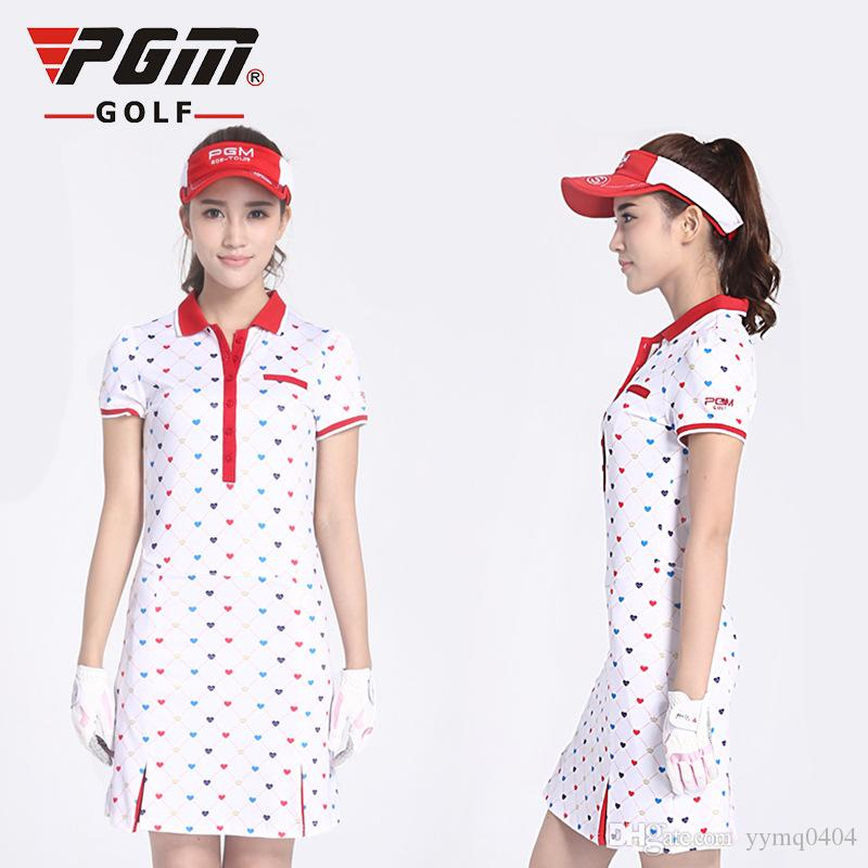 2018 2017 New Womens Slim Printing Golf Wear Summer Women ...