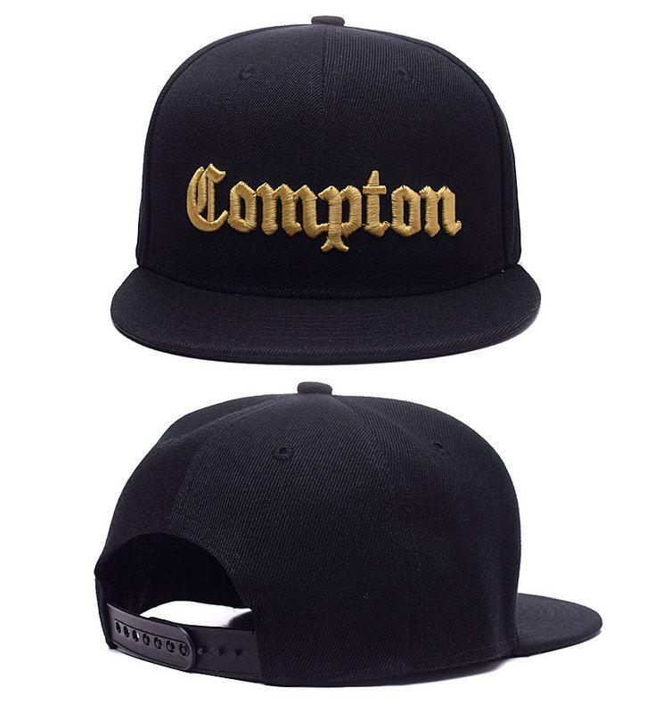 2017 SSUR Snapback Cap Compton Black White Hats Hip Pop Mens Women Classic  Cheap Fashion Adjustable Snapbacks Caps cf0e5c67488