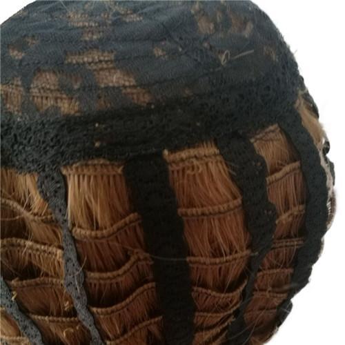 100 % 인간의 머리가 발 Capless가 발 여자 깊은 둥근 까만 Ombre 레드 와인 머리가 발 240g 14 인치