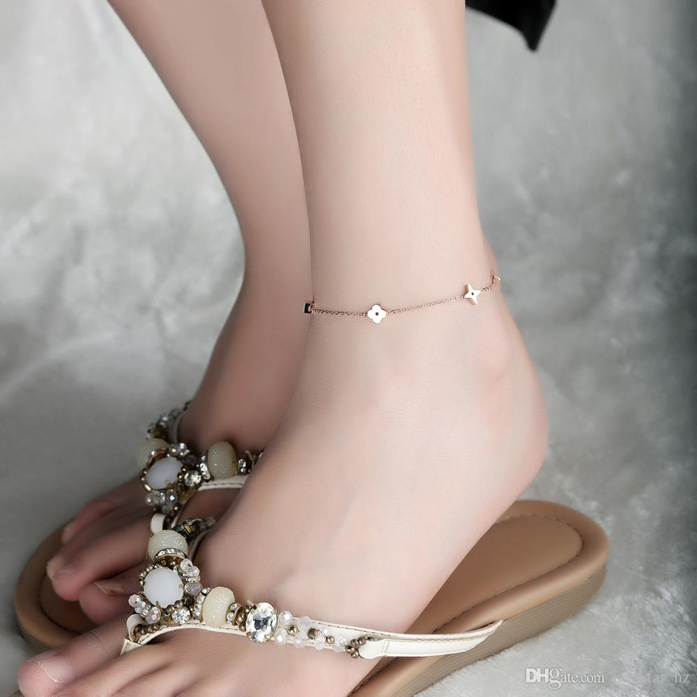 bracelet color for women givvllry wide anklets jewelry rivet silver from item black gold big metal foot ankle vintage punk anklet velvet ankles in