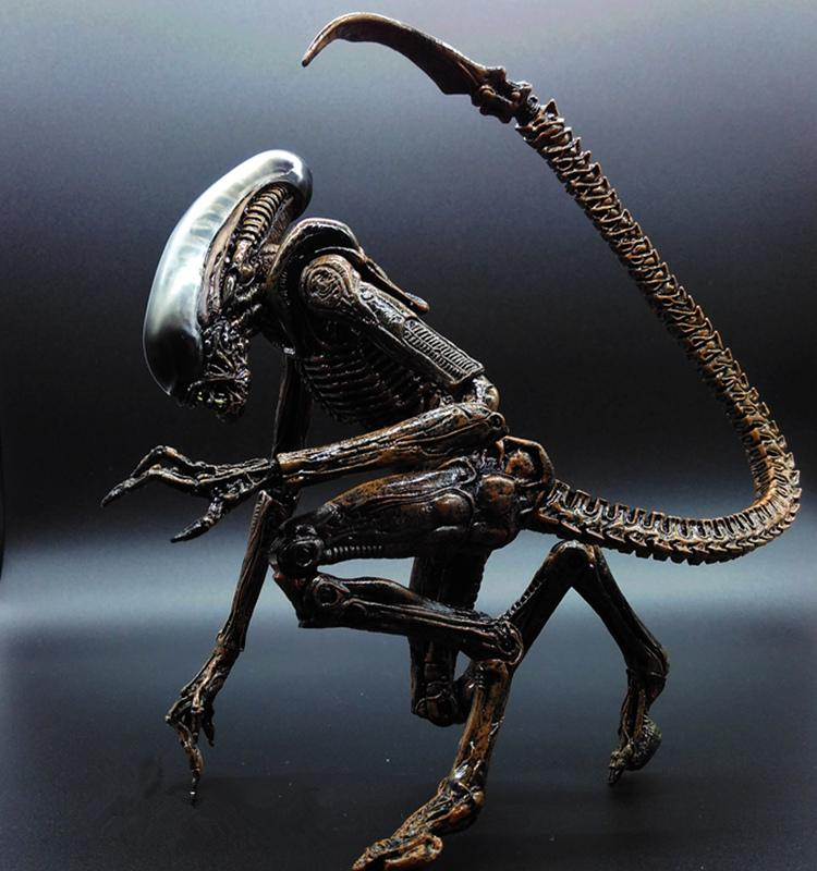 Alien vs Predator AVP ABS 20cm Action Figure Model Collectie Toy MOVIE Film Brinquedos Opp Bag Scar Predator QUEEN