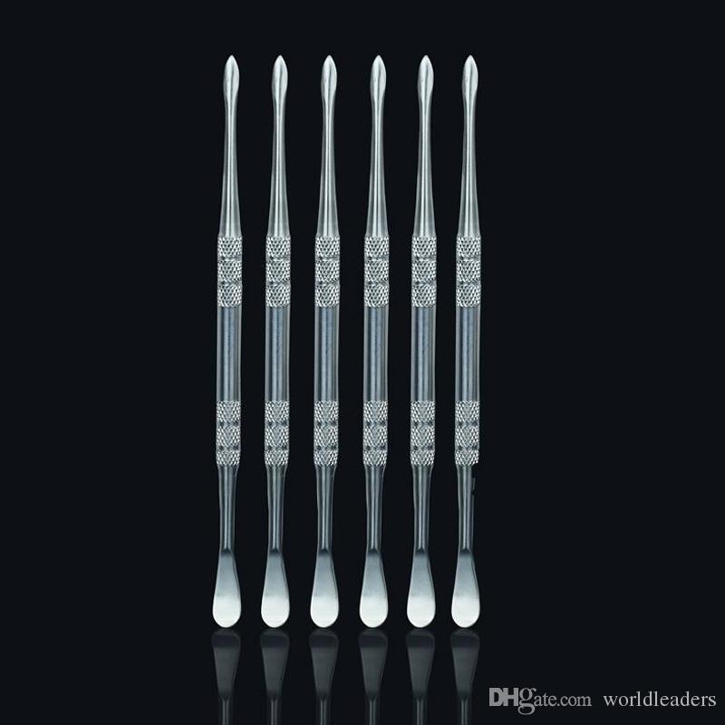 OEM Ze Stali Nierdzewnej Wosk Narzędzie Elektroniczne Metalowe Narzędzie Dabber Narzędzie Titanium Dab Nail do suchej Herba para temu G5 Atomizer