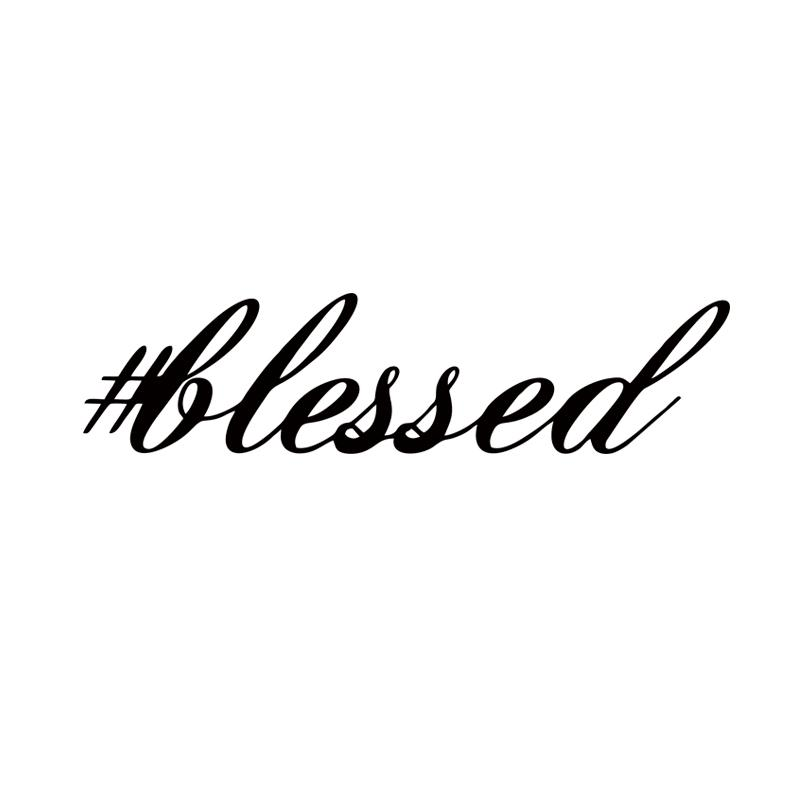 Online cheap blessed sticker funny race jesus church car styling jdm hooligan stance drift money vinyl decal decor jdm by langru1003 dhgate com