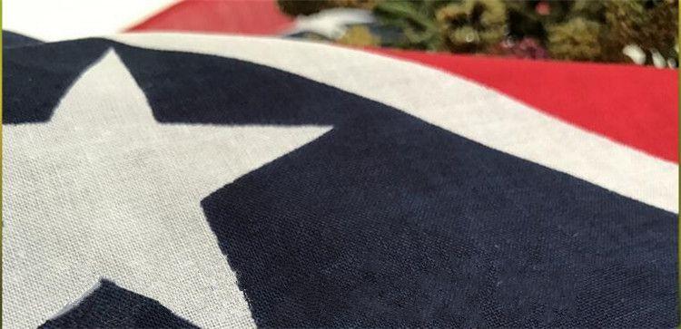 Nuovo confederato ribelle bandiera bandana bandiera stampa bandana / fascia / maschera bandane adulti maschere del partito di trasporto libero 200 pz / lotto I095
