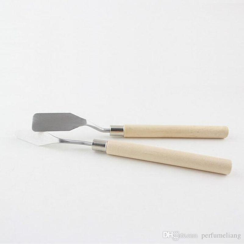 Stainless Steel Oil Knives Artist Crafts Spatula Palette Knife For Oil Painting Art Supplies ZA3945