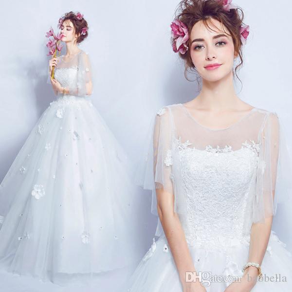 Celtic Wedding Dresses White Pale Blue Medieval Bridal: Discount Vintage Celtic Wedding Dresses White And Pale