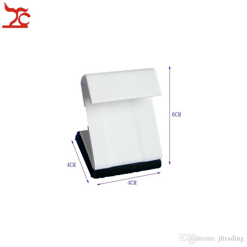 Wholesale Stud Earrings Stand Holder Jewelry Display Showcase Black and White Small Earring Easel Z Shaped Earring Organizer Holders