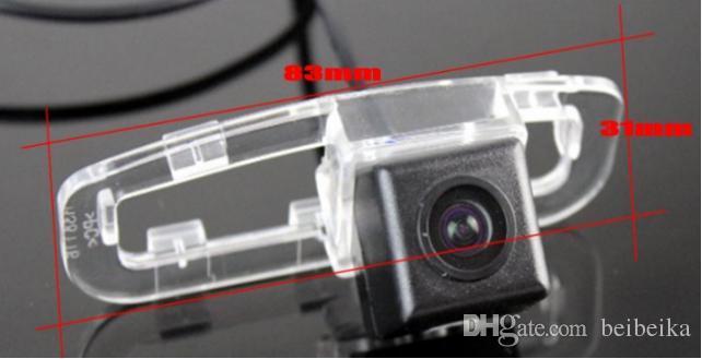 Car Camera For Honda Accord Rear View Camera / HD CCD RCA NTST PAL / License Plate Light OEM 1058
