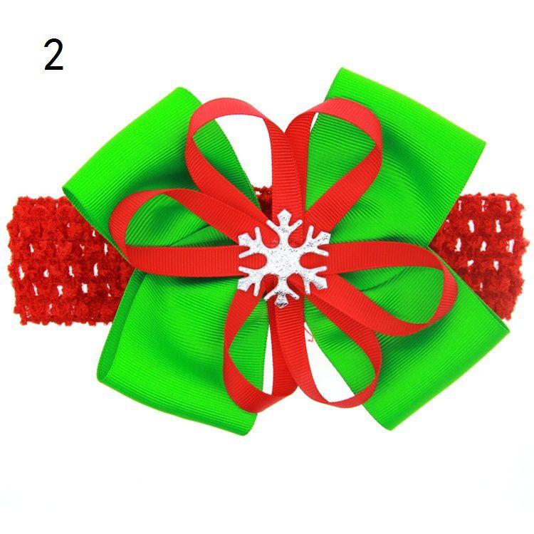 Noel dekorasyon Saç Çiçekler Noel Baba Kardan Adam Şapkalar Çocuklar Firkete Kızlar Noel Bantlar Parti Saç Aksesuarları B0984
