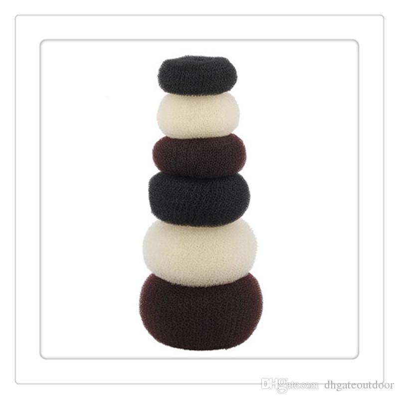 Kadın Kızlar Saç Klipler Bun Siyah Çörek Sentetik Scrunchie Saç Şekillendirici Bun Bun Bun Bun Kafes Wrap Maker Postiş Klip Saç Uzatma Brid