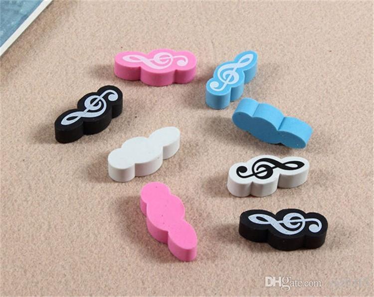Wholesale New Fashion Music Style Stationery Mini Style Music Eraser Music Gift