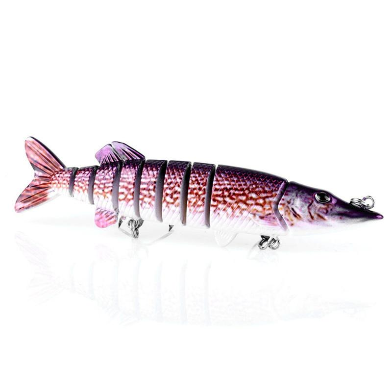 Lifelike Fishing Lure Multi Segment Swimbait Crankbait Hard Bait 12.7cm 20g Artificial Lures Fishing Tackle Wholesale 2508054