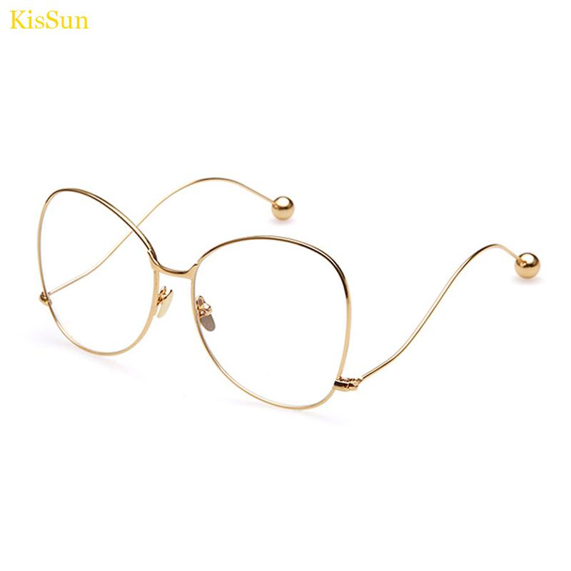 2018 Wholesale Oversized Eyeglass Frame Eyewear Black Korean Eye ...
