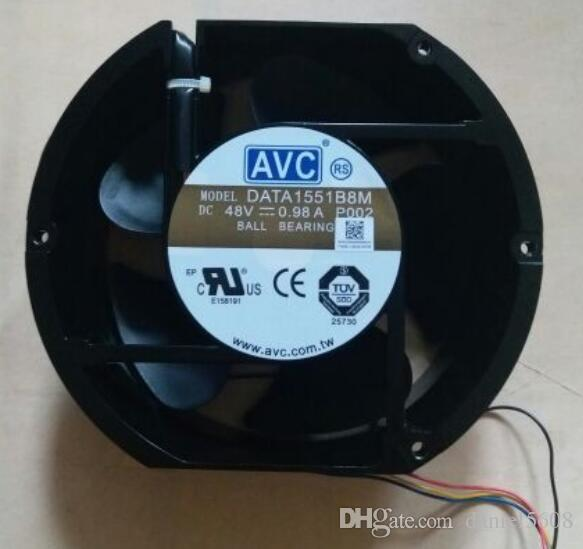 Genuine AVC 17251 DATA1551B8M 48V 0.98A metal shell high temperature resistant 4 Wire Fan