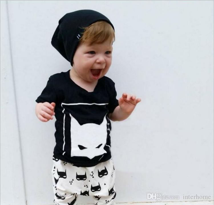 Kids Designer Clothes Boys Outfits Toddler Fashion Top T-shirts Pants Infant Casual Suits Baby Romper Kids Clothing Sets 22 Desiigns G343