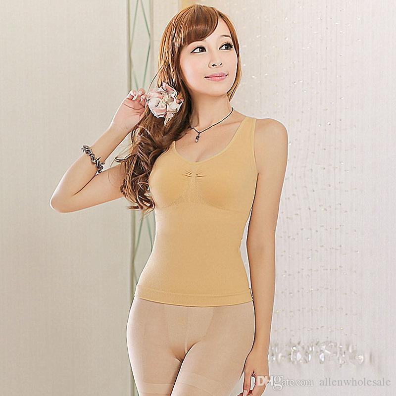 Women Slimming Waist Tummy Shaper Breast Lift Up Vest