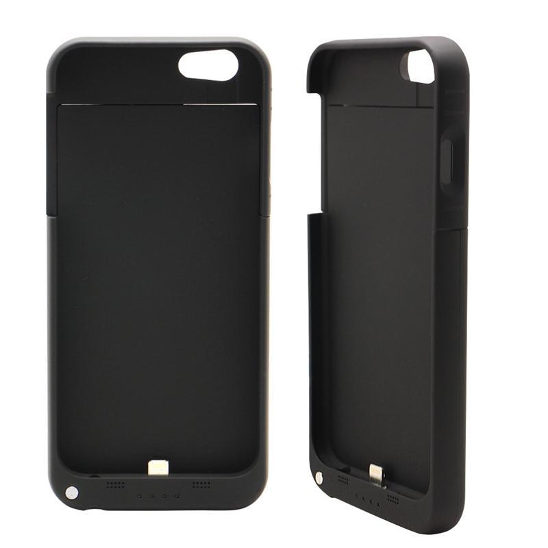 Pour iphone 8 Plus batterie de secours externe Power Bank Cover Cover Case chargeur Power Case pour iPhone 7 6 6s Plus 4.7