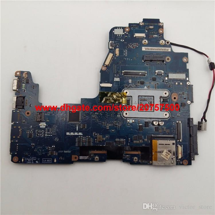 Original & High Quality for Toshiba Satellite P750 P755 K000121690 LA-6832P Laptop Motherboard Mainboard Tested