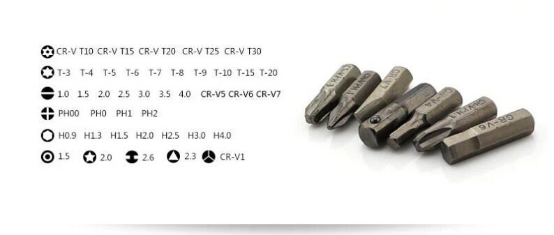 Schraubendreher-Kit von hoher Qualität für die Demontage elektrische Maschine Reparatur Werksverkauf professionelle multifunktionale Handwerkzeug 70 in 1