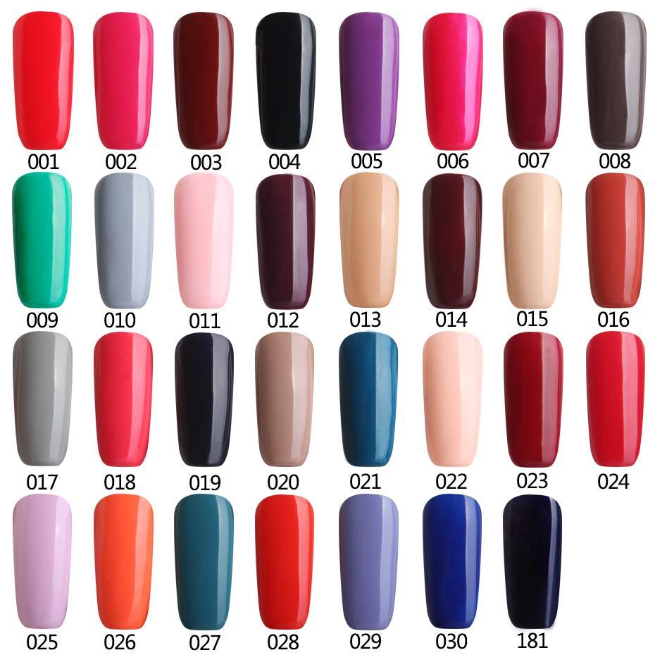 Wholesale Gel Nail Polish Led Gelpolish Diy Varnish Color Fashion ...