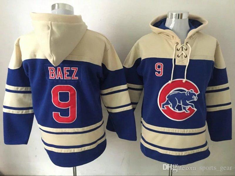 another chance fb52a ca3b8 authentic chicago cubs 17 kris bryant white hoody 67e23 a6861