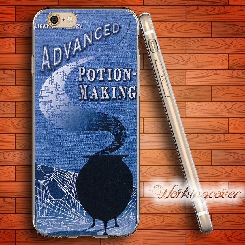 Coque Coque en TPU Harry Potter Advanced Soft Clear pour iPhone 6 6S 7 Plus 5S SE 5 Housse en silicone 5C 4S 4.