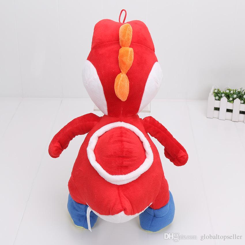 40 cm es Super Mario Bros Yoshi de peluche de juguete de peluche suave muñeca de juguete para los niños regalo de juguete