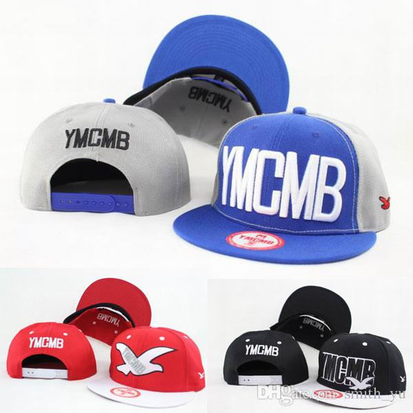 6ae93eabc53 Fashion YMCMB Strapback Caps Peace Pigeon Hats Men Women Sport Snapback  Baseball Cap Hip Hop Summer Sun Visor Adjustable Hat Mesh Hats Superman Cap  From ...