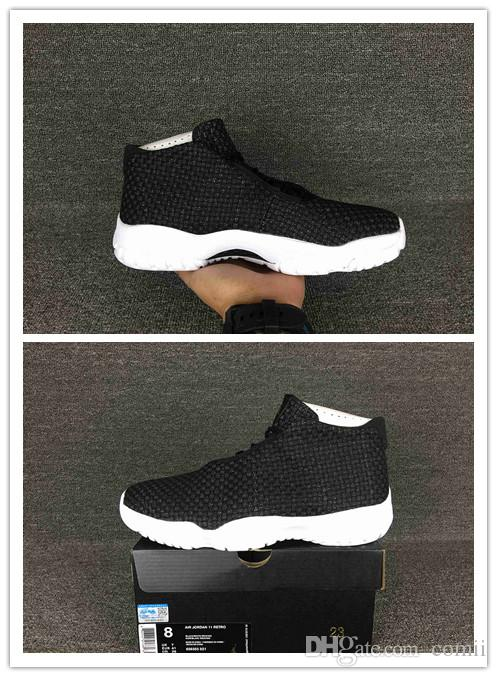 6419ce8917 NEW 11 XI Future Black White High Cut Mens Womens Basketball Shoes  Wholesale Eur Size 36-46 Free Shipping