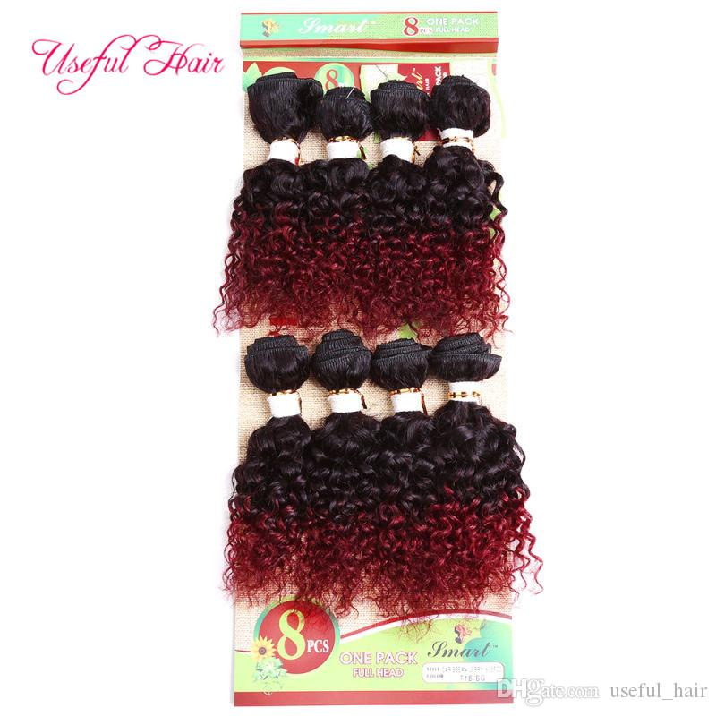WEFT mongolian kinky curly HAIR 8pcs totally 250gram Brazilian hair extension,marley braid human braiding Unprocessed Sew In hair Extensions