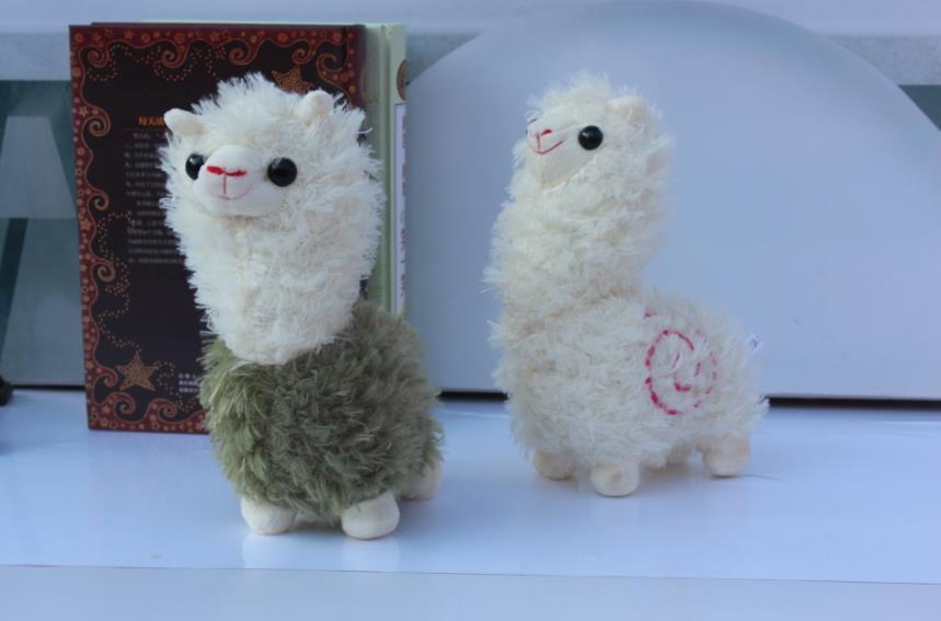 Kawaii Rainbow Alpaca Plush Doll Toys Cute Llama Alpacasso Stuffed Toys Japanese Stuffed Animals Doll Children Kids Gift