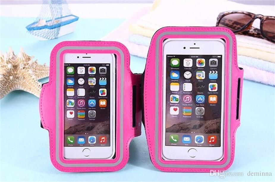 Para Iphone X deportes a prueba de agua corriendo brazalete brazalete de entrenamiento braguita Pounch Celular brazalete del brazo del teléfono móvil