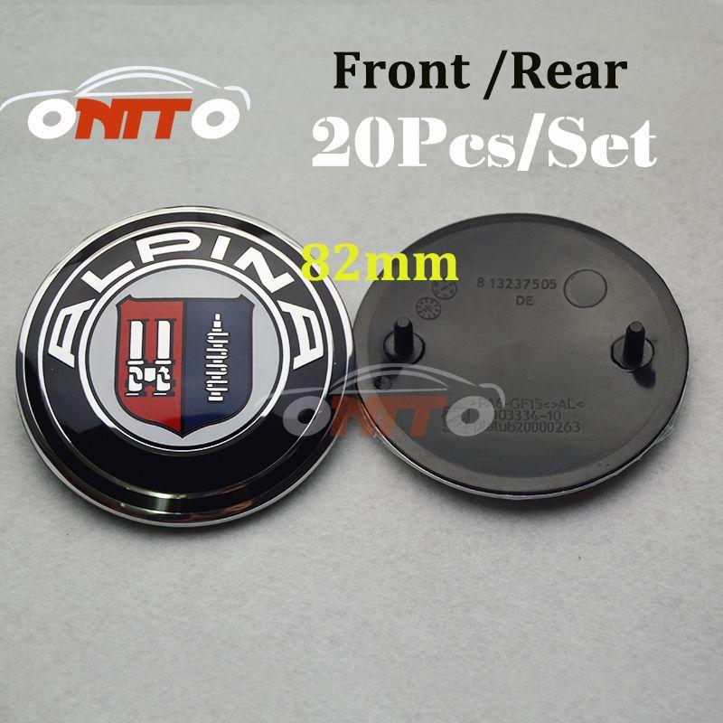 Car Stying Car Emblem 82MM LOGO HOOD EMBLEM TRUNK Car badge Emblem for E60 E90 F10 F30 F15 E63 E64 E65 E86 E89 E85 E91 E92 E93 F02