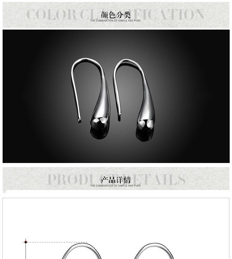 VERKAUF Modeschmuck neue 925 Silber Mode kreative Ohr Haken Ohrringe passen Pandora weiblichen Kristall von Swarovski einfach