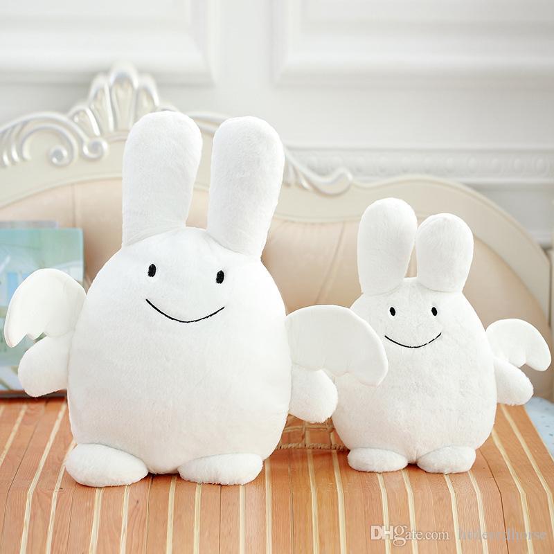 Little Angel Toys : Kawaii kids angel bunny doll cute stuffed rabbit plush